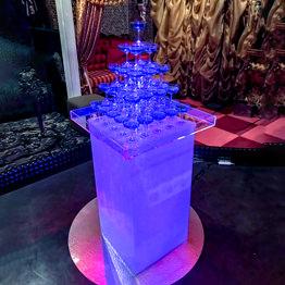 シャンパンタワー5段 四角形