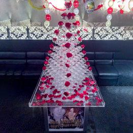 シャンパンタワー10段 三角形