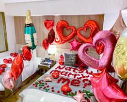 ホテル客室バルーン装飾